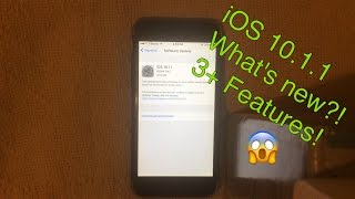 iOS 10 1 1 new features VIZION LV
