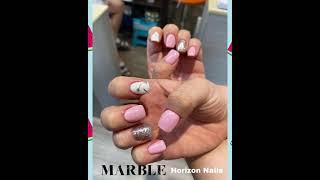 Marble Nail Art/ 마블 네일아트 June …