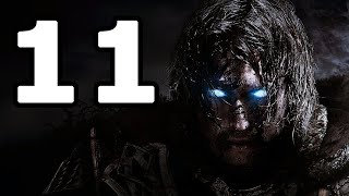 Middle-earth: Shadow of Mordor Walkthrough Part 11 - No Commentary Playthrough (PC)
