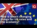How is Brexit changing things for UK rates and the economy?