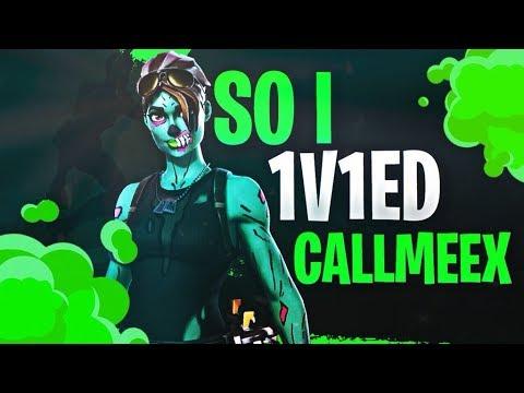 So i 1v1ed CallMeEx (owner of chronic)