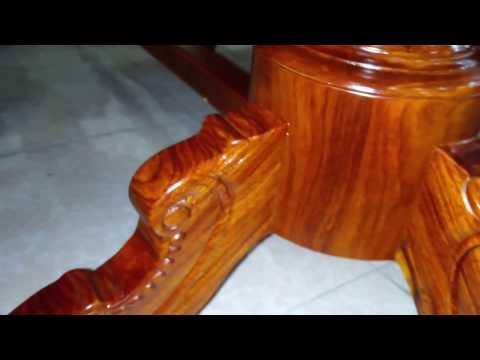 Bộ bàn ghế ăn gỗ Hương Vân
