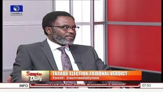 Taraba Tribunal: INEC's Hands Are Tied By Law – Onigbanjo Pt.2 10/11/15