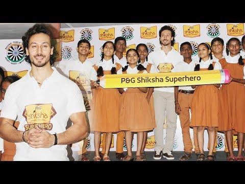Tiger Shroff At P&G Shiksha Movement For Betterment Of Underprivileged Children
