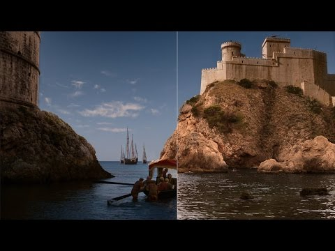 From Dubrovnik to King's Landing