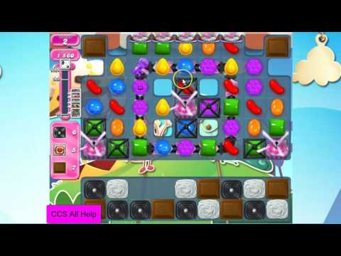 Candy Crush Saga Level 2672 NO BOOSTERS Cookie