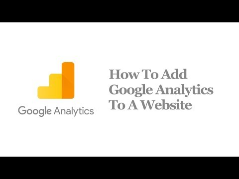 How To Add Google Analytics To A Website