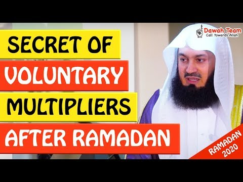 🚨SECRET OF VOLUNTARY MULTIPLIERS AFTER RAMADAN🤔 - Mufti Menk