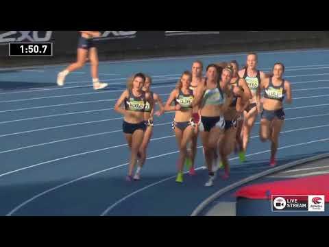 U20 Womens 1500m - Heat 1 - 2018 Australian Junior Athletics Championships