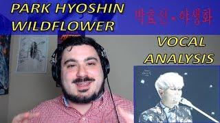 Vocal Coach Analyzes Park Hyoshin - Wildflower 박효신 - 야생화 [First Time]