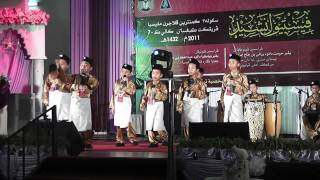 Johan Festival Nasyid Kebangsaan 2011-Sarawak (SEKOLAH RENDAH)