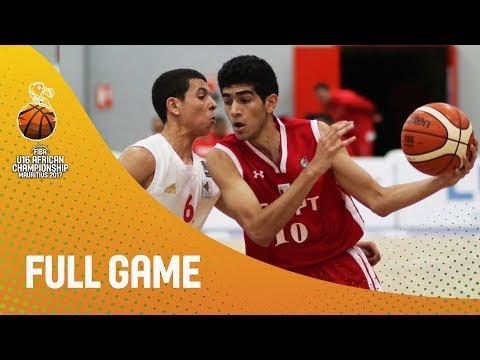 Algeria v Egypt - Full Game - FIBA U16 African Championship 2017