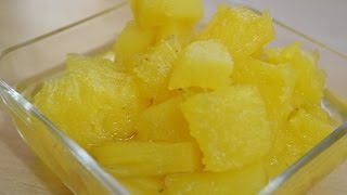 Sweet Pineapple Recipe by chef shaheen