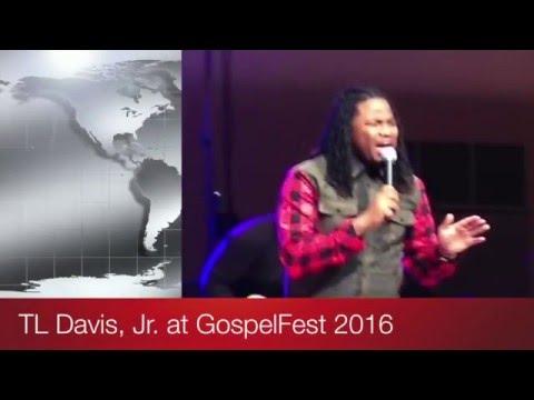 Thomas Davis, Jr. live at GospelFest 2016
