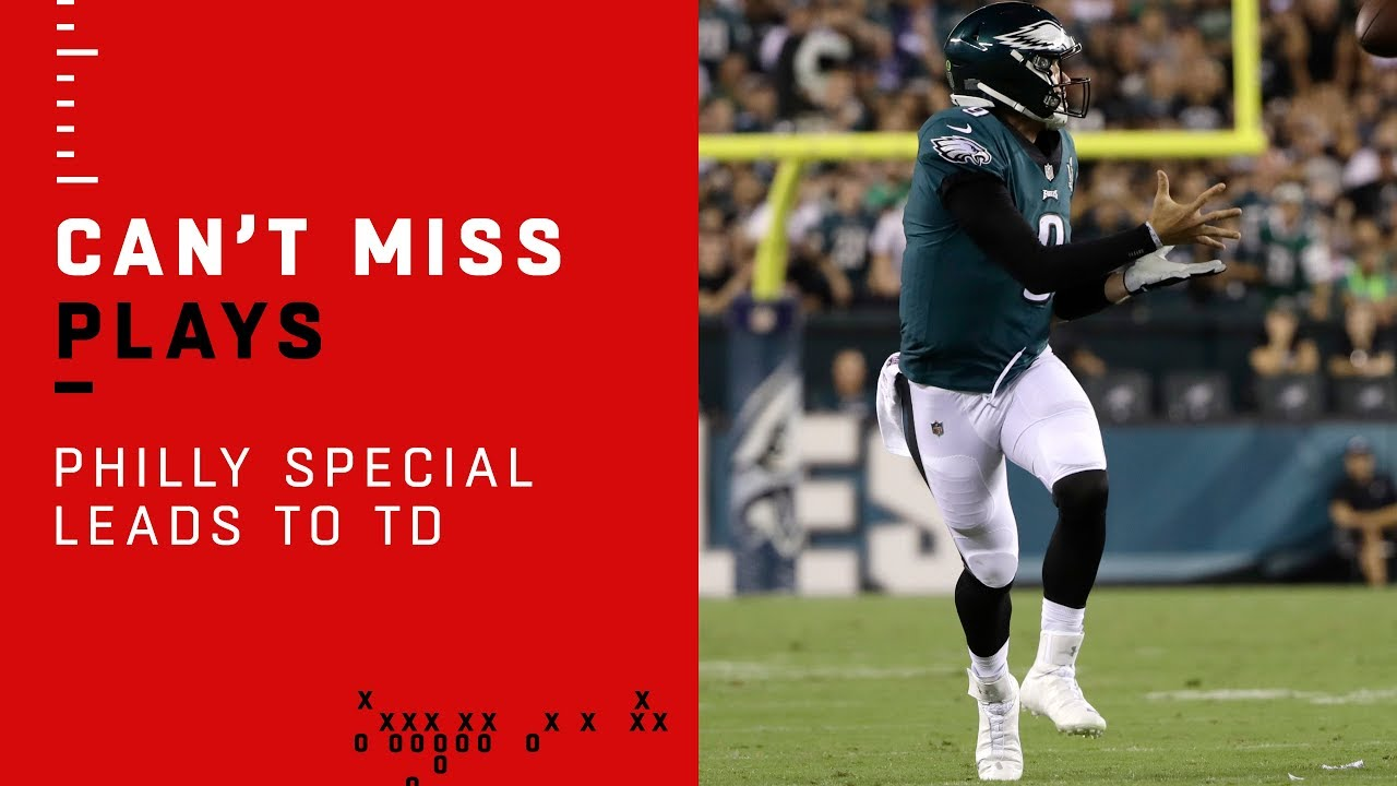 The story behind Nick Foles' game-winning touchdown vs. Falcons ...