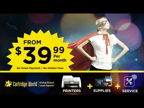 Be a Hero! Stop Uncontrolled Office Printing & Spending with Cartridge World
