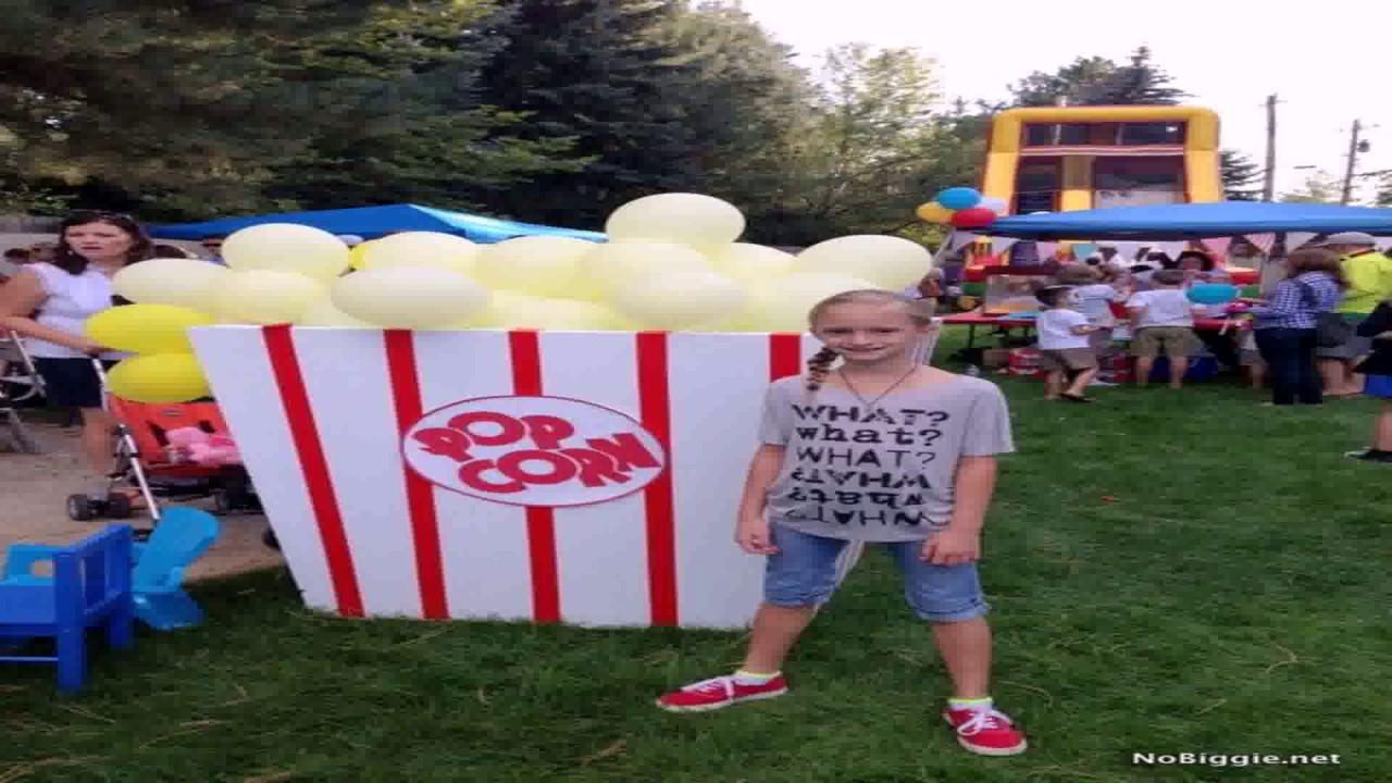 diy carnival themed birthday party youtube