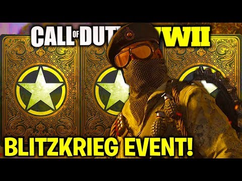 *NEW* UPDATE in COD WW2 [NEW BLITZKRIEG DLC EVENT] NEW DLC WEAPONS, NEW DIVISION, GROUND WAR & MORE!