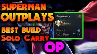 Superman Is Insane | After Nerf | Insane Damage | Best Hero | Arena Of Valor: 5v5 Battle
