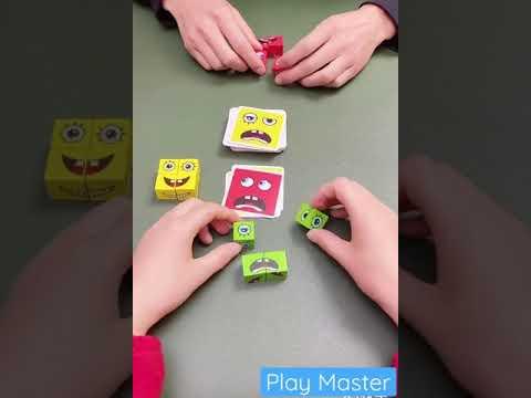 Emoji pattern making game 2021 educational indoor toys & game for kids   #shorts play master #toys