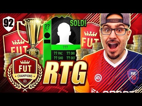 OH SH*T 1,500,000 COIN *PLEASE HELP ME*! FIFA 18 Ultimate Team Road To Fut Champions #92 RTG