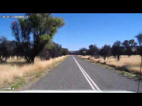 Video 280-Larapinta Drive - Stuart Caravan Park to Simpsons Gap