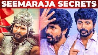 Seemaraja WAR Sequence secrets | Sivakarthikeyan Reveals!