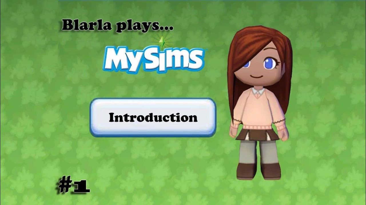 MySims (Episode 1 - Introduction)