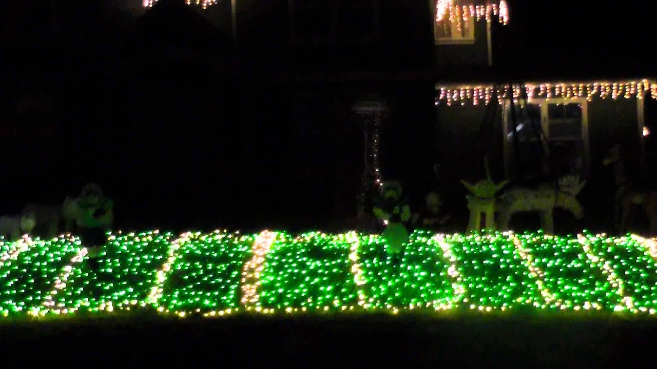 Seahawks Christmas Lights.Seahawks Christmas Lights Anthem