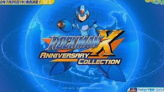 Mega Man X Legacy Collection - Tour of the Menus & Gallery (Rockman X Anniversary Collection)