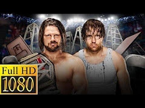 Download Dean Ambrose vs AJ Style TLC 2016 Full Match HD ► WWE TLC, Dec  04, 2016 Full Show