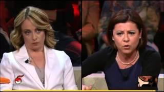 Tornado Meloni devasta De Micheli  26/05/2015
