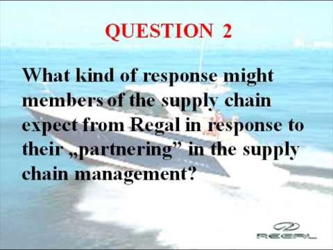 Case Study - Supply Chain Management at Regal Marine