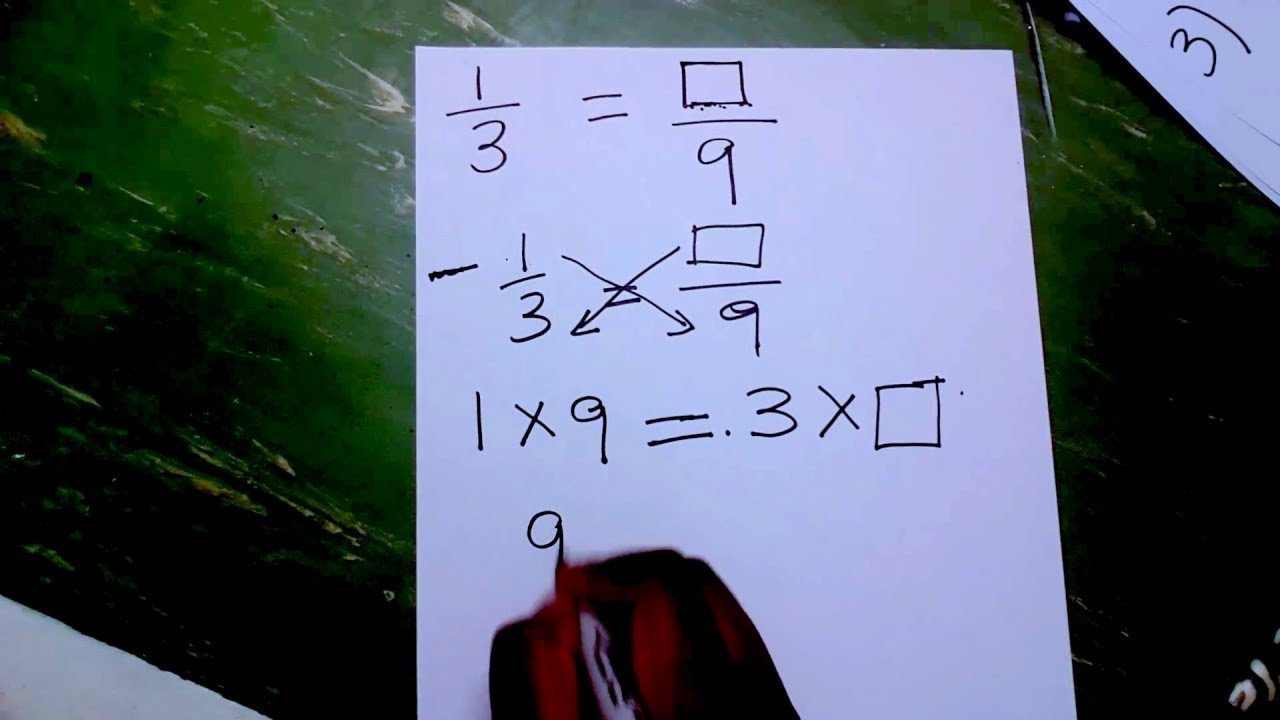 How To Find Equivalent Fractions In 30 Sec With No