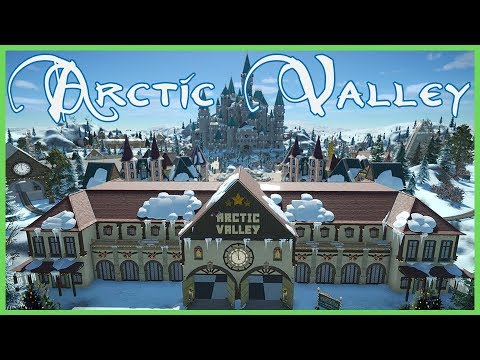 Arctic Valley! Pixel's Christmas Experience! Park Spotlight 91 #PlanetCoaster