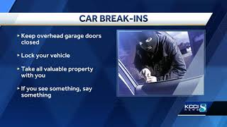 Johnston police warn of rash of break-ins