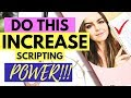 Small Shift That INCREASES Scripting Power! DO THIS Scripting Tool For QUICKER Manifesting Results!