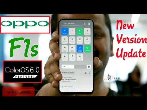 OPPO F1s ColourOS 6.0 Latest Version Update 2019 || OPPO F1s New Update Found 2019 || Andriod Bar