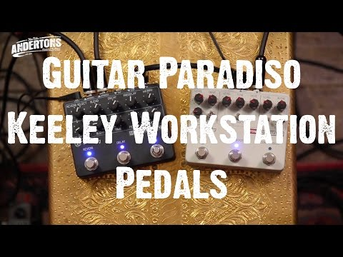 Guitar Paradiso - Keeley Workstation Pedals