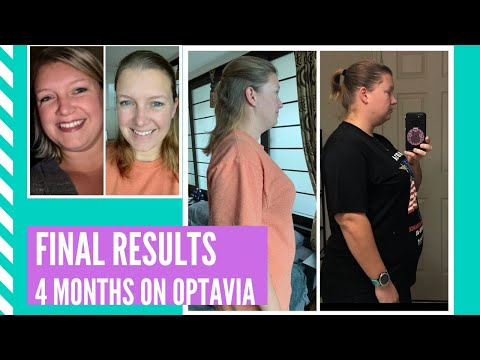 Optavia Final Weight Loss Results