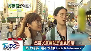TVBS民調:民進黨形象墊底 輸時代力量