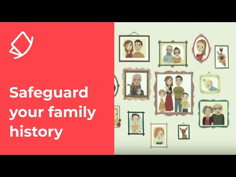 Webinar With The PhotoGenie: How To Safeguard Your Family History