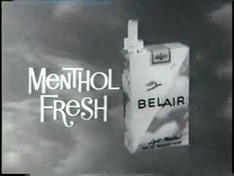 early 60s cigarettes TV commercials