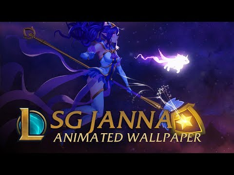 Star Guardian Janna | Animated Wallpaper - League of Legends
