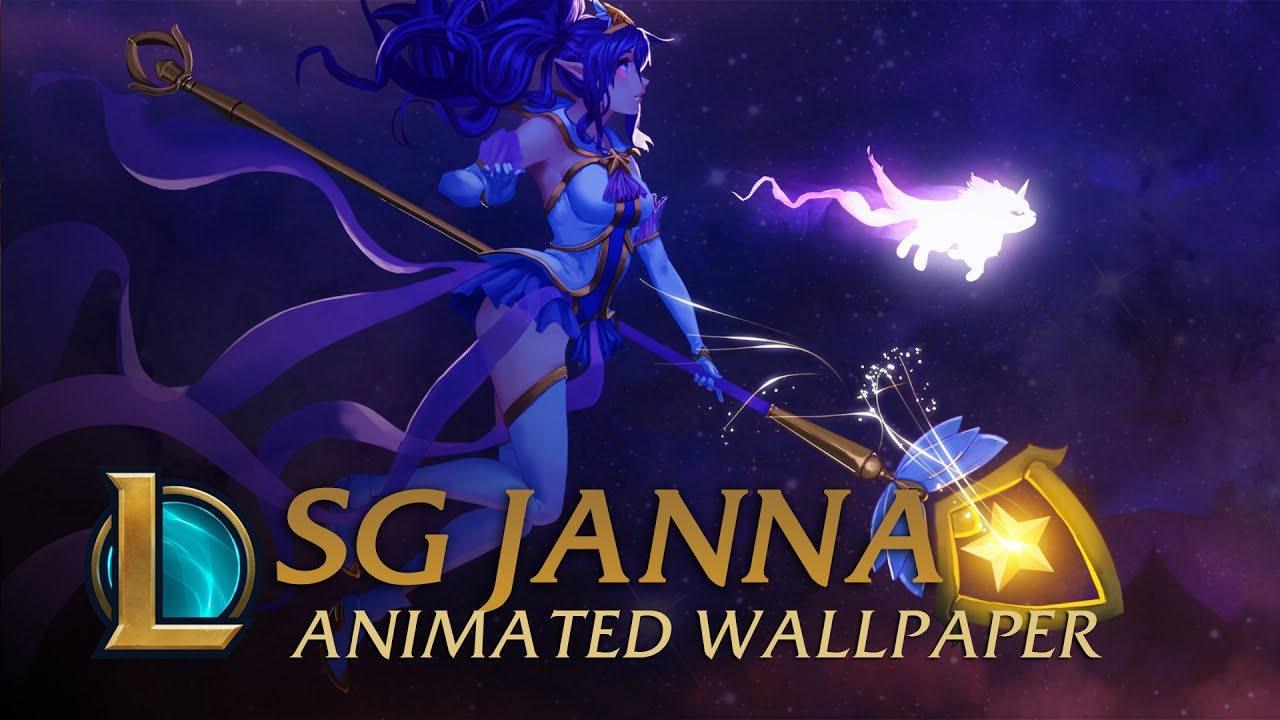 Star Guardian Janna | Animated Wallpaper - League of Legends