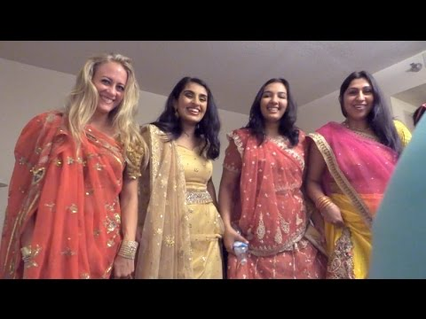 Backstage Hair And Fashion Show Indian Dance Youtube