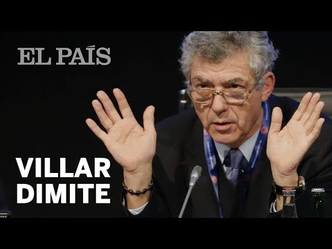 Villar dimite de la UEFA y de la FIFA | Deportes