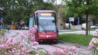 Rete tranviaria di Venezia 2016 - Rubber-tyred tram in Venice, Italy