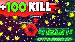 107 KILLS!!! - NEW WORLD RECORD!!! - NUEVO RECORD MUNDIAL!!! - NEON BATTLEGROUND (HD)