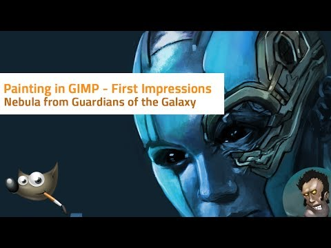 Painting in GIMP | Nebula | First Impressions